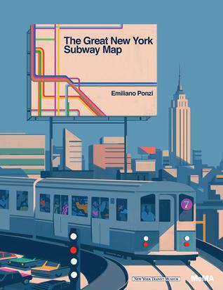 The Great New York Subway Map par Emiliano Ponzi