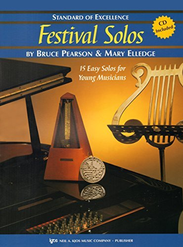 W37PR - Standard of Excellence - Festival Solos BK/CD Book 2 - Snare Drum and Mallets