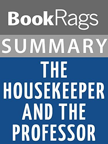 Summary & Study Guide: The Housekeeper and the Professor