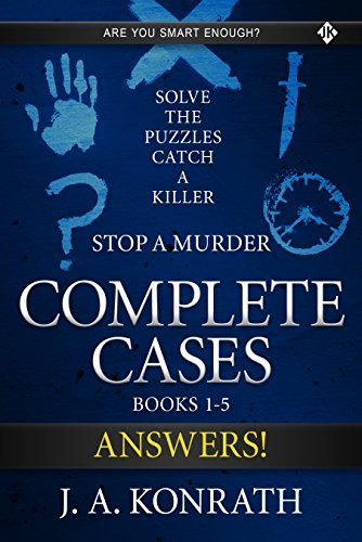 STOP A MURDER - ANSWER BOOK (Mystery Puzzle 6)