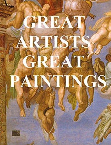 GREAT ARTISTS, GREAT PAINTINGS (ILLUSTRATED): CORREGGIO, LANDSEER, MICHELANGELO, MILLET, RAPHAEL, REMBRANDT, REYNOLDS, TITIAN, VAN DYKE