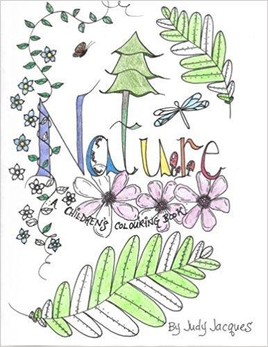 Nature: a children's colouring book