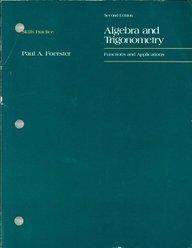 FOERSTER ALGEBRA AND TRIGONOMETRY SKILLS PRACTICE