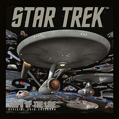 Star Trek Ships Of Line Official 2018 Calendar - Square Wall Format Calendar (Calendar 2018)