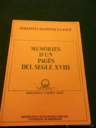 Memòries d'un pagès del Segle XVIII