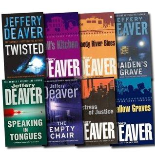 Jeffery Deaver Collection 8 Books Set By Jeffery Deaver border=