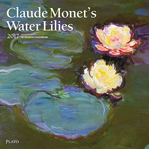 Claude Monets Water Lilies 2017 Square Plato