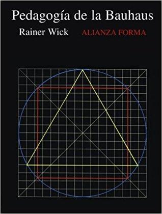 La pedagogia de la Bauhaus por Rainer Wick