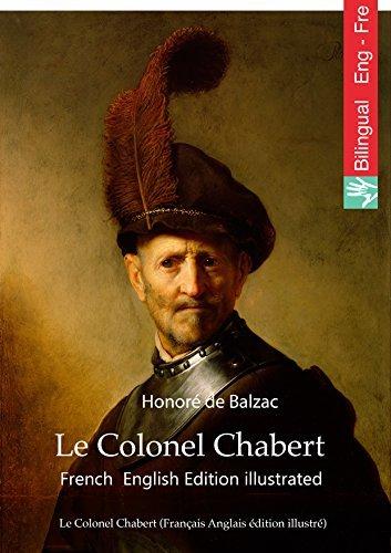 Le Colonel Chabert (Français Anglais edition illustre): Colonel Chabert