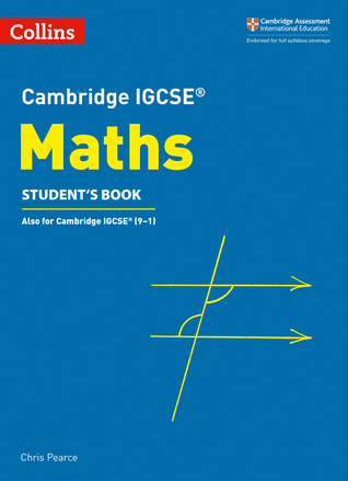 Cambridge IGCSE® Maths Student's Book
