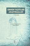 Orhon Yazıtları Araştırmaları by Vilhelm Thomsen