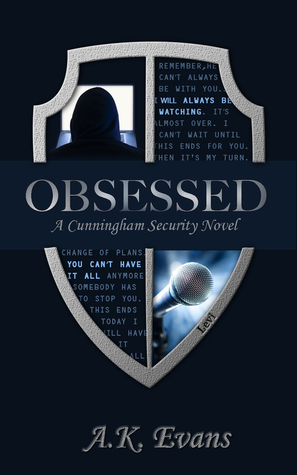 Obsessed (Cunningham Security, #1)