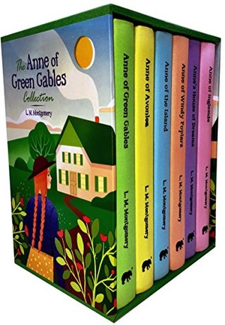 Anne of Green Gables Collection 6 Books Box Set by L. M. Montgomery