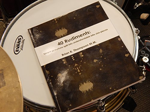 40 Rudiments:: Torrent of Rhythm split into understandable bite-size pieces