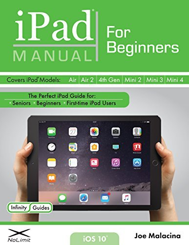 iPad Manual for Beginners: The Perfect iPad Guide for Seniors, Beginners, & First-time iPad Users