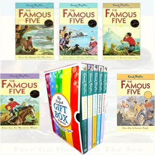 Enid Blyton Famous Five Vol(11-15) Collection 5 Books Bundle Gift Wrapped Slipcase Specially For You