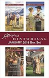 Love Inspired Historical January 2018 Box Set: Montana Groom of Convenience\Accidental Courtship\His Forgotten Fiancée\A Mother For His Family