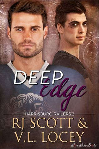 Release Day Review:  Deep Edge (Harrisburg Railers #3) by R.J. Scott and V.L. Locey
