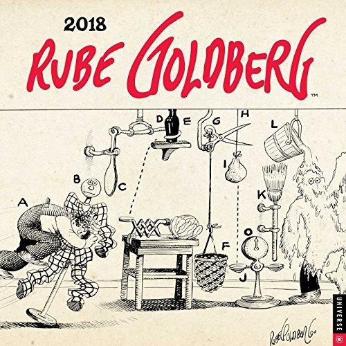 Rube Goldberg 2018 Wall Calendar