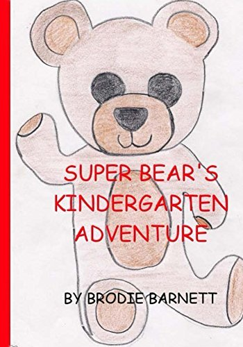Super Bear's kindergarten adventure