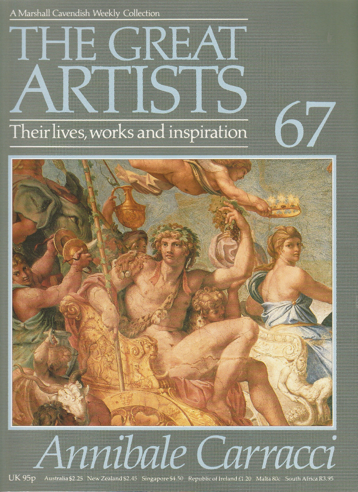 Annibale Carracci (The Great Artists. Their Lives, Works and Inspiration #67)