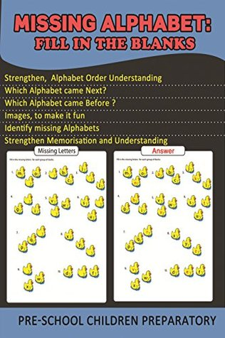 The Missing Alphabet: Fill in the Blanks (Practice Perfect Book 4)