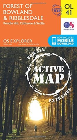 OS Explorer ACTIVE OL41 Forest of Bowland & Ribblesdale