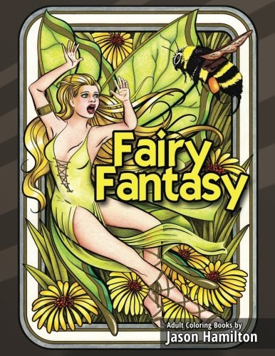 Fairy Fantasy: Enchanting Fairy Adult Coloring Book