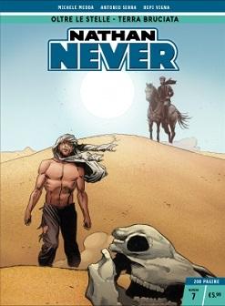 Nathan Never n. 7: Oltre le stelle - Terra bruciata
