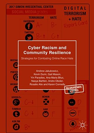 Cyber Racism and Community Resilience: Strategies for Combating Online Race Hate