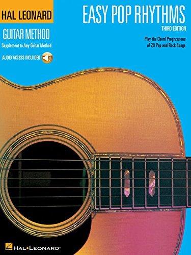 Hal Leonard Guitar Method: Easy Pop Rhythms Third Edition (Book/Online Audio)