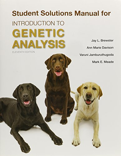 Solutions Manual for Introduction to Genetic Analysis
