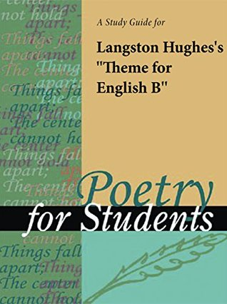"A Study Guide for Langston Hughes's ""Theme for English B"""
