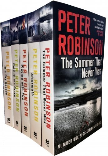 The Inspector Banks Series By Peter Robinson 5 Books Collection Set