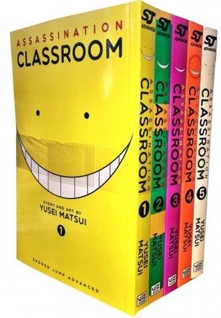 Assassination Classroom Yusei Matsui Volume 1-5 Collection 5 Books Set (Series 1)