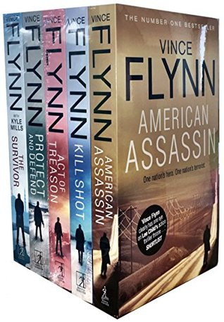 Vince Flynn X 5 Shrinkwrap Spa