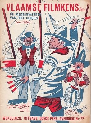 De messenwerper van het circus (Vlaamse Filmpkens, #796)