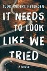 It Needs to Look ...
