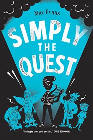 Simply the Quest (Who Let the Gods Out #2)