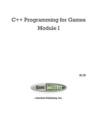 C++ Programming for Games Module I