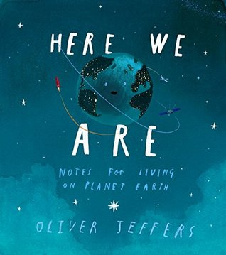 {Tour} Here We Are by Oliver Jeffers (Mood Board + a Giveaway!)