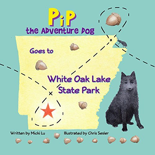 Pip The Adventure Dog Goes to White Oak Lake State Park