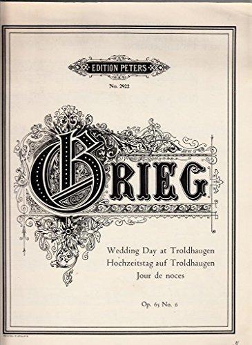 Wedding Day at Troldhaugen Orgue