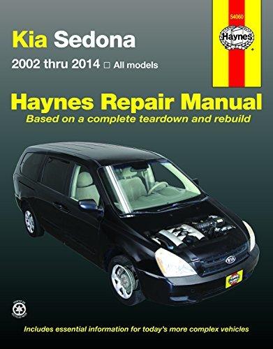 Kia Sedona Automotive Repair Manual: 02-14
