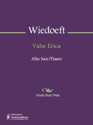 Valse Erica - E-flat Alto Saxophone
