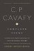 The Complete Poems of Cavafy by Constantinos P. Cavafis