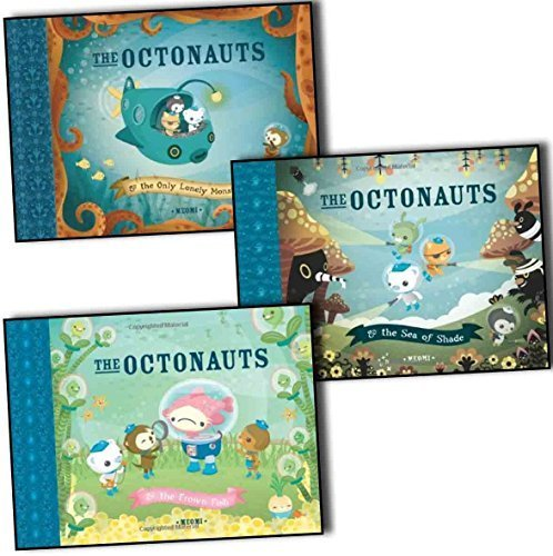 Meomi The Octonauts 4 Books Collection Pack Set RRP: 23.96 (The Octonauts an...