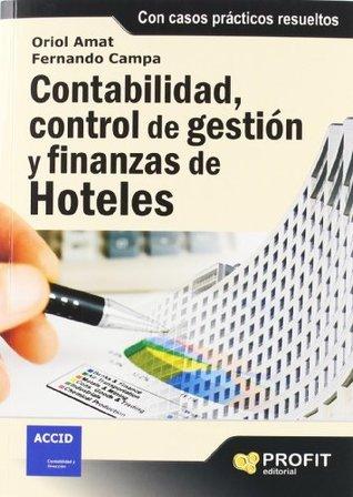 CONTABILIDAD,CONTROL DE GESTIÓN Y FINANZAS DE HOTELES