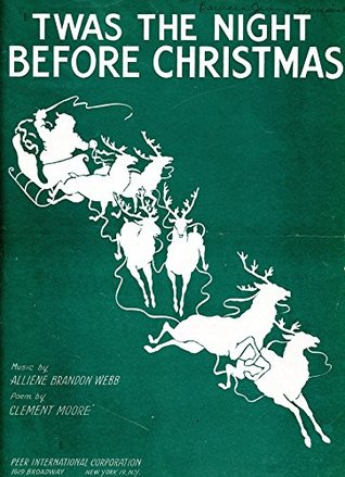 (1944) 'Twas The Night Before Christmas Piano & Voice digital restoration composition score (Retro Relics in Public Relations Book 2)