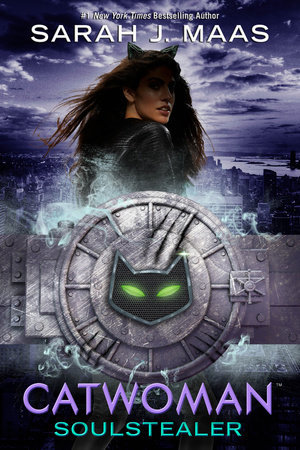 Cover Page of Catwoman by Sarah J Maas